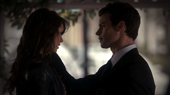 "Elena and Elijah 4x18 ""American Gothic""- Elijah thinks Elena is Katherine"