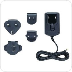 AC Adapter 220 volt accessory for powering the SkyScan Model P5