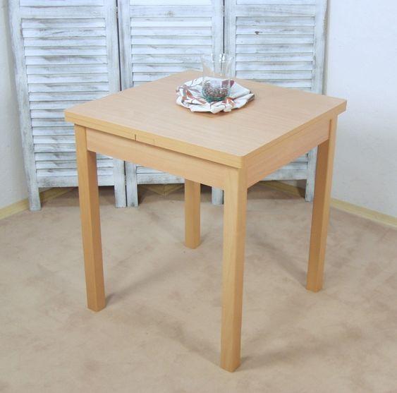 Kuchentisch Koln Buche Nb 75 X 55 Bei Poco Kuchentisch Und Stuhle Kuche Tisch Esstisch Ausziehbar