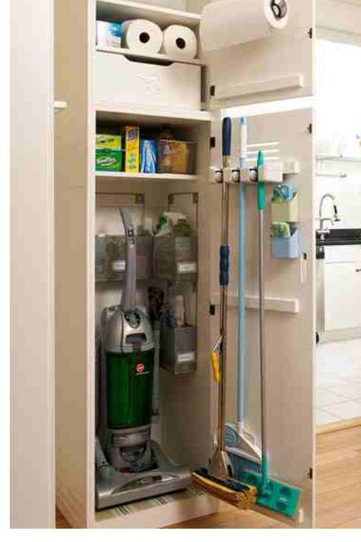Laundry Room Ideas Stacked Putzschrank Kleiderschrankordnung Waschkuche Und Vorratsraum