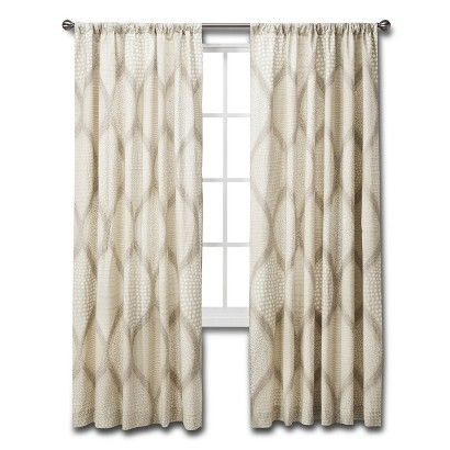 Bedroom Curtains cream bedroom curtains : Ogee Curtain Panel - Mudhut™ | Shops, Cool stuff and Awesome