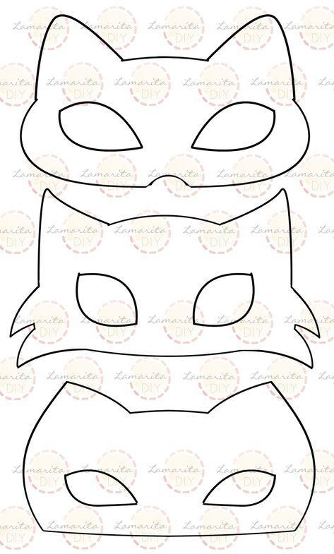 Pin En Maska Zvirata