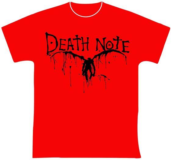 knupSilk - ESTAMPARIA/SERIGRAFIA: Death Note