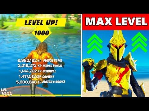 Fastest Way To Level Up In Season 3 Fortnite Xp Glitch Xp Coin Locations Unlock Tier 100 Skins Youtube In 2020 Level Up Fortnite Seasons