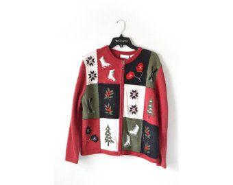 Christmas Sweater, Ugly Christmas Sweater, Vintage Christmas Sweater, Womens Christmas Sweater, Vintage Christmas Sweater, CHristmas Jumper