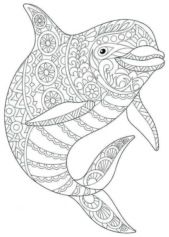Omeletozeu Mandalas Para Colorear Animales Dibujos Para