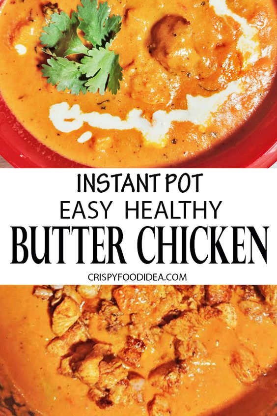 Instant Pot Butter Chicken for Keto Dinner