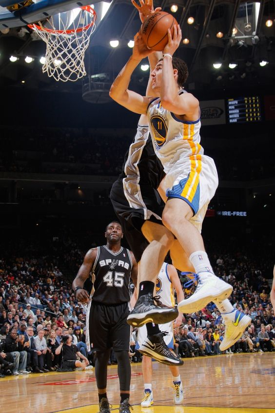 4.15.14 | Klay Thompson also had a big night for the Warriors with 23 points.