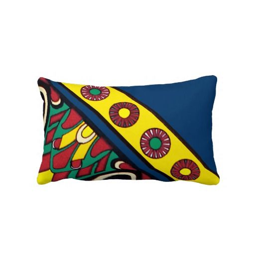 Decorative Assyrian Design Pillow
