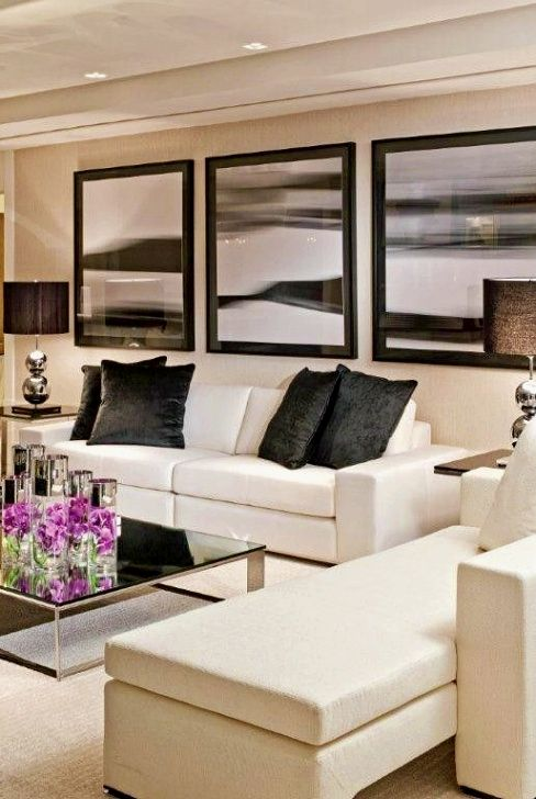 Change Your Living Room Decor On A Limited Budget In Six Steps My House My Garden Living Room White White Leather Sofas Living Room Leather