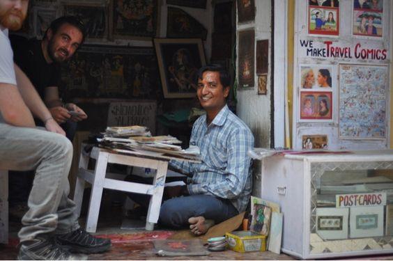 No Rest For the Wayfaring: An artist in Bundi