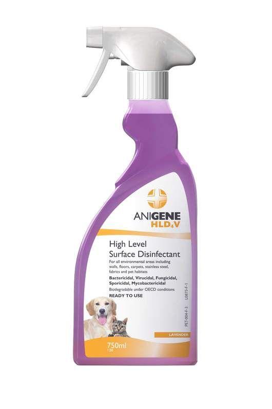 Anigene Hld4v Disinfectant Trigger Spray Fragranced 750ml Fragrance Spray Bottle Household