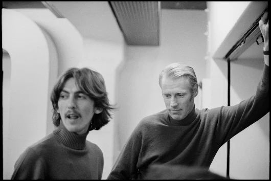 The two George's: Harrison and Martin