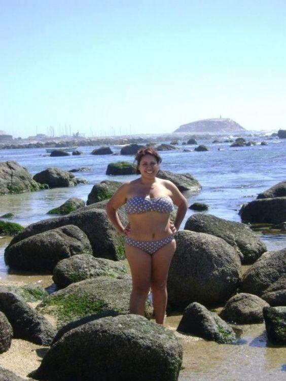 femme ronde Infidèle a la plage !!!