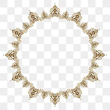 Golden Round Frame Frame Golden Frame Border Frame Png Transparent Clipart Image And Psd File For Free Download In 2021 Glitter Frame Circle Frames Vintage Frames