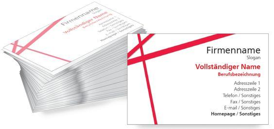Business Cards online personalisieren von onlineprintXXL #businesscards #onlineprintxxl