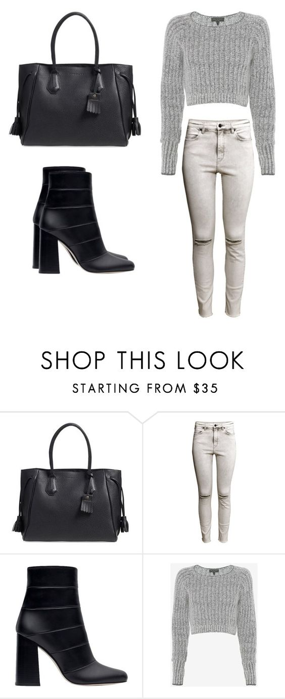 """""""Back to basics."""" by christyandnef on Polyvore featuring Longchamp, H&M, Zara and rag & bone"""