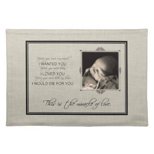 Miracle of Love Placemat
