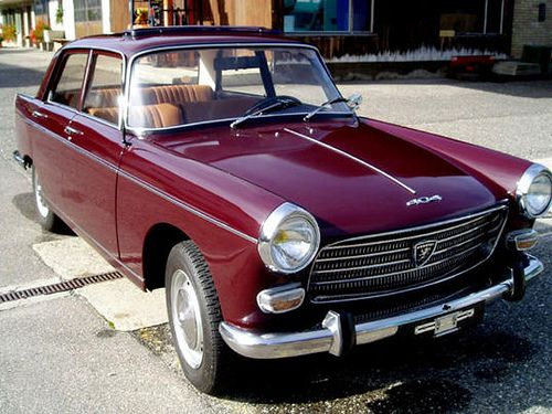 Peugeot 404, la même que celle de mes parents