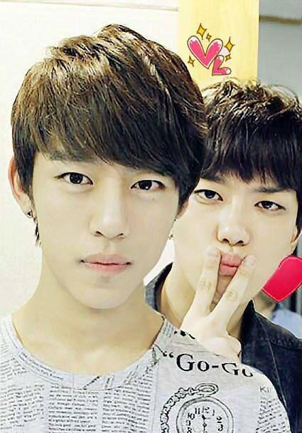 Daehyun and Youngjae (>*-*)> | BAP | Pinterest | Lol