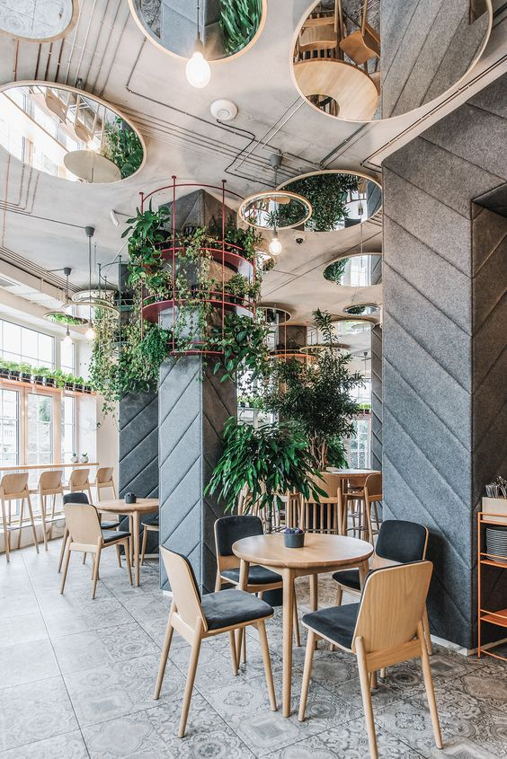 desain cafe restoran