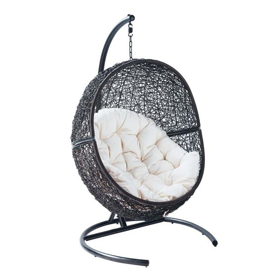 Fauteuil suspendu de jardin cocoon for the home pinterest for Jardin suspendu