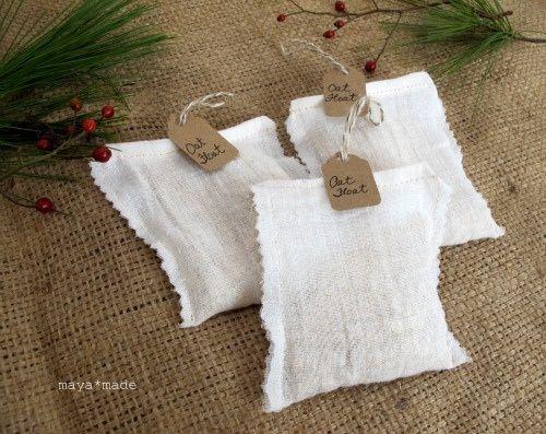 Great idea for oatmeal baths.
