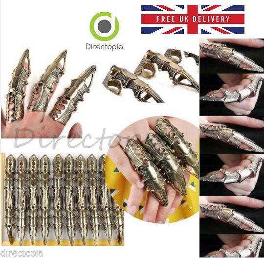 Steampunk vintage finger ring joint armour #knuckle #robot finger #gothic gift,  View more on the LINK: http://www.zeppy.io/product/gb/2/301893937942/