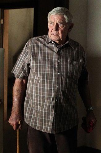 Ralph Waite (Jackson Gibbs) - otec Gibbse