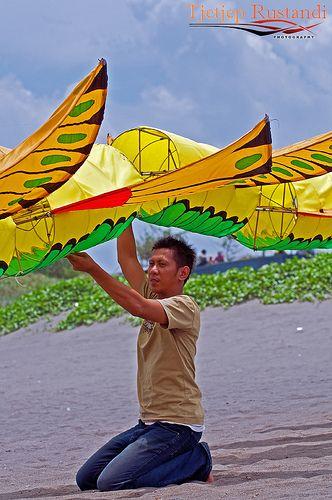 Flying 3D Dragon kite