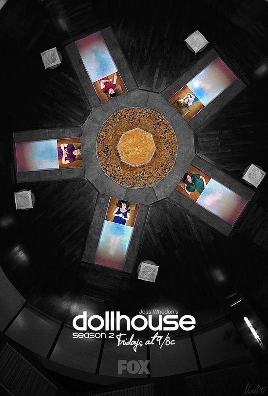 Joss Whedon's Dollhouse poster by norb47 (LiveJournal)