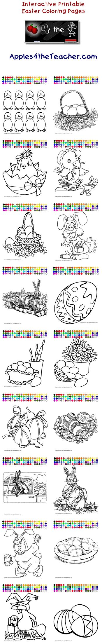 childrens interactive coloring pages - photo #36
