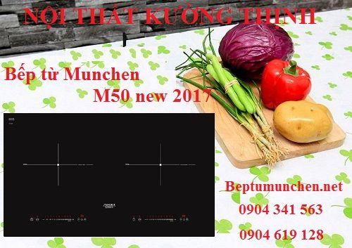Có nên mua bếp từ Munchen M50 new 2017 không