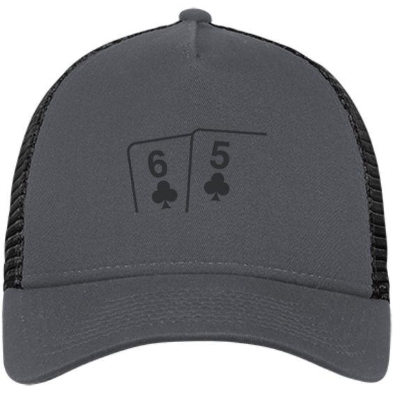 New Era® Snapback Trucker Cap (6c 5c on front)