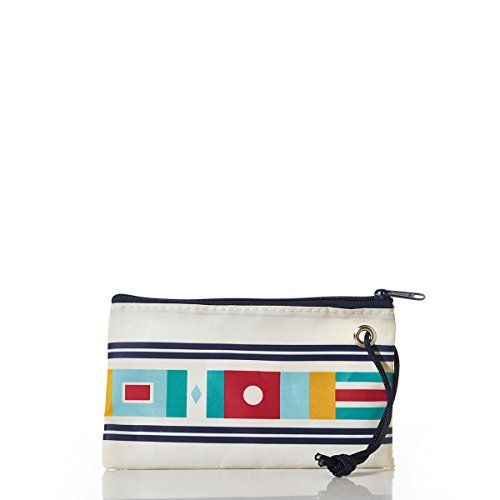 Coin Purse Double Zipper Pouch Recycled Canvas Wallet Lumber Apron