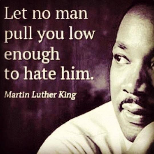 """""""Let No Man Pull You Low Enough To"""