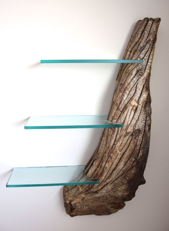 driftwood bookshelf craig kimm custom woodwork pinterest meubles moderne et. Black Bedroom Furniture Sets. Home Design Ideas