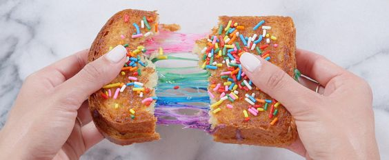 Obsessed With the Rainbow Grilled Cheese From Instagram? Make It Right Now!