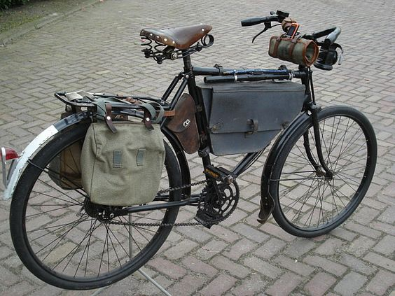 vintage bicycle touring bags Huddle avail
