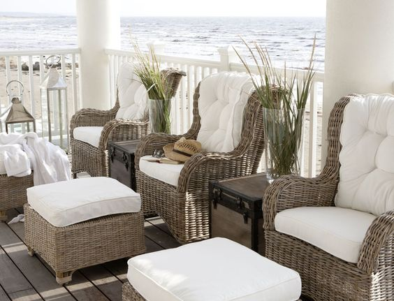 beach house veranda #rivieramaison #living #outdoor #garden #interior: