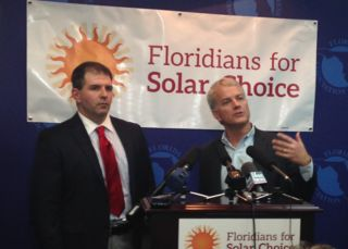 Solar, Florida to generate electricity from the sun. Duke Energy trying to stop it, so they can continue to rip off customers.
