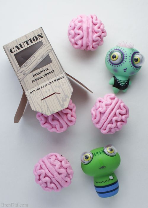 https://brendid.com/zombie-apocalypse-craft-free-printable-valentine-cards/  Printable Zombie Brain Cupcake Box from Bren Did. 31 FREE Halloween Printables on Frugal Coupon Living. Halloween freebies for kids, adults and the home.