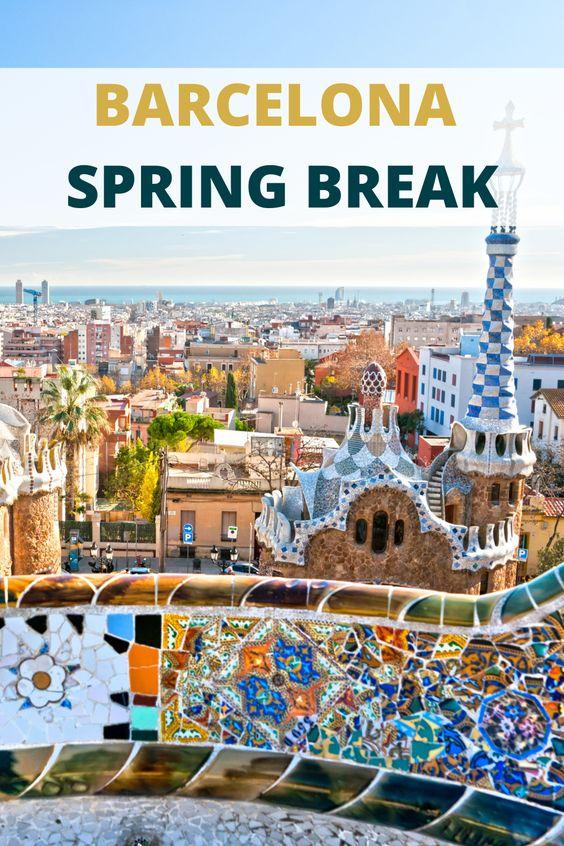 Barcelona SPring break