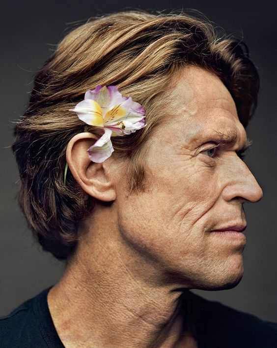 Willem Dafoe by Martin Schoeller. I think is such a talented actor, whith a peculiar hotness of his own