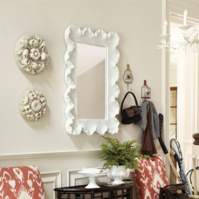 LOVE this mirror, front hall?