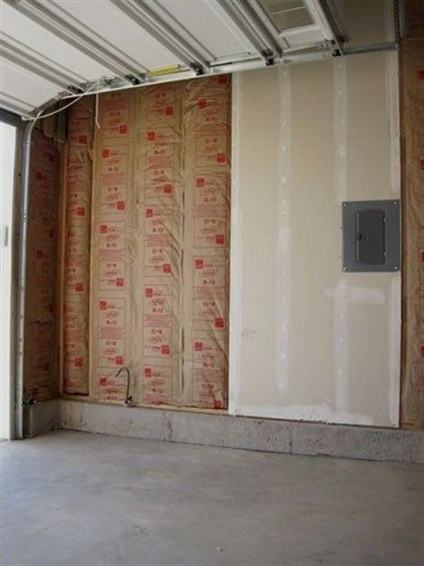 How To Finish A Garage An Easy Step By Step Guide To Finishing Your Garage This Post Includes Insulating Garage Makeover Garage Decor Insulating Garage Walls