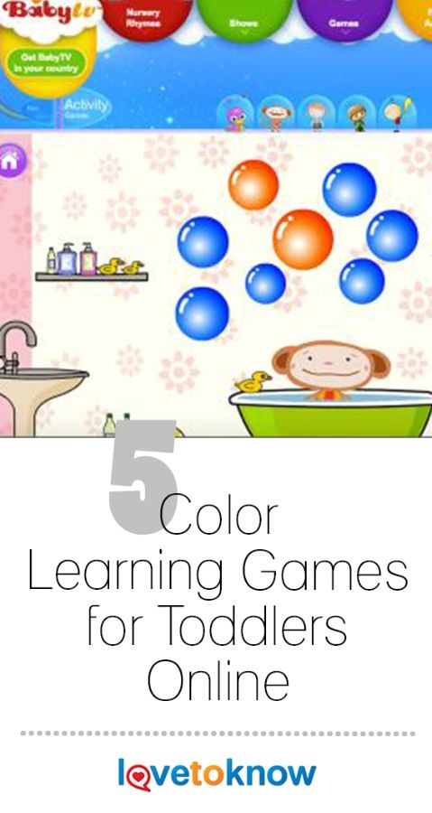 Free Online Toddler Games For Learning Colors With Images
