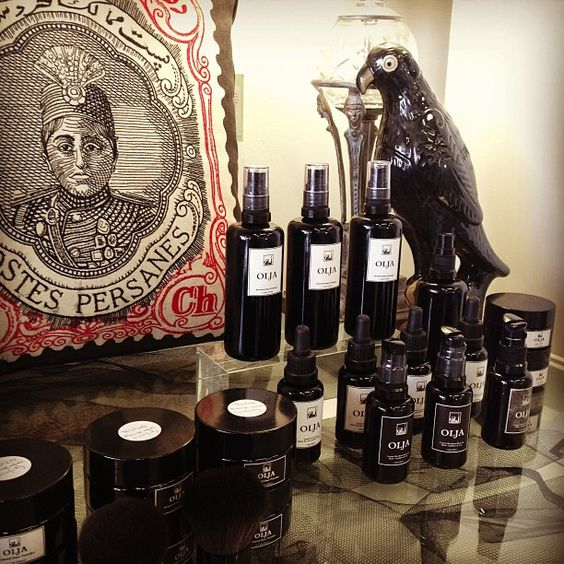 Olja hair products at http://shop.behindthemonkey.com