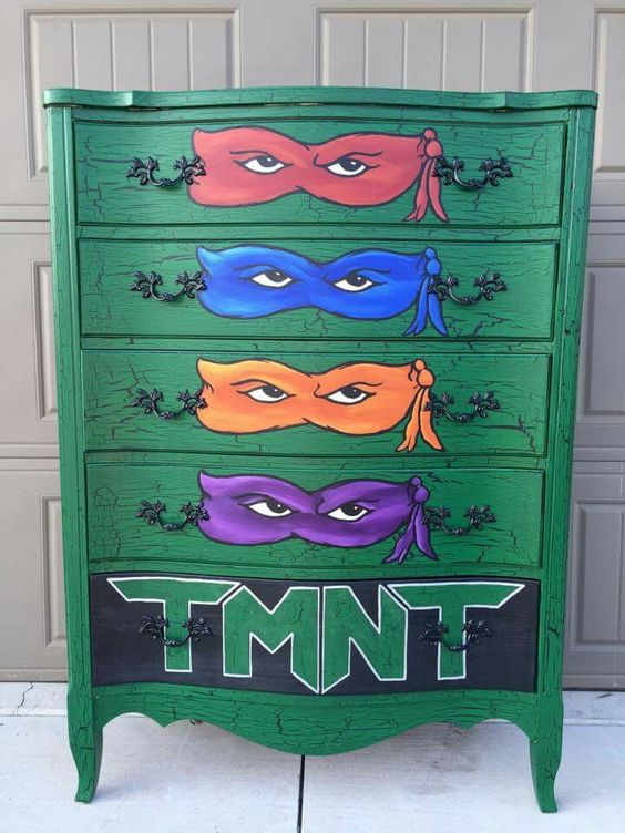 Teenage Mutant Ninja Turtles Furniture Kid S Room