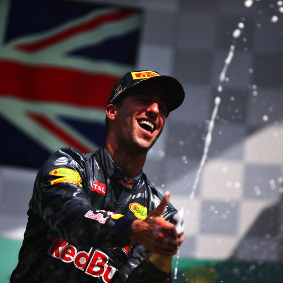 Three podiums on the bounce!  @danielricciardo  #BelgiumGP #F1  Daniel Ricciardo